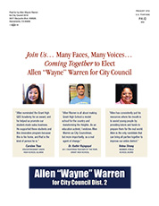Allen Warren for Sacramento City Council